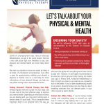 Let's Talk About Your Physical & Mental Health